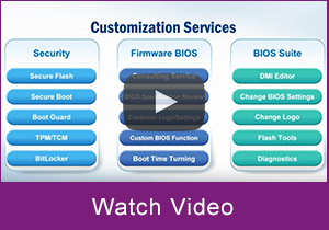 Embedded BIOS Services
