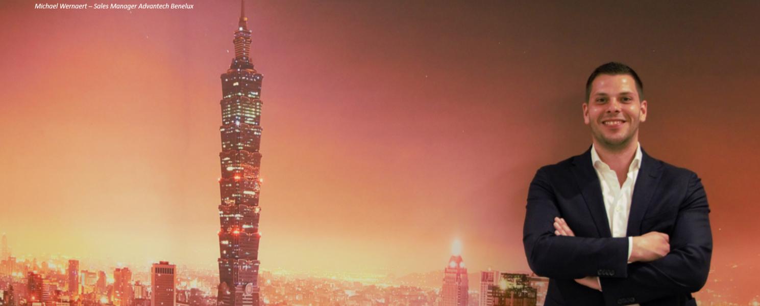 Michael Wernaert - Advantech eIoT Sales Manager Benelux