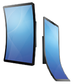 Advantech curved displays