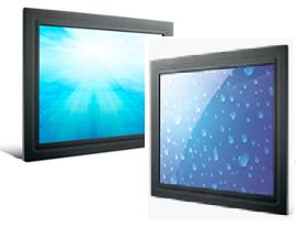 Advantech panel mount monitors